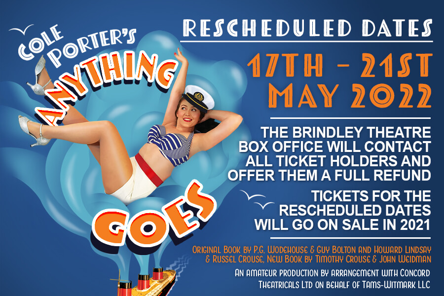 Anything Goes - Postponed